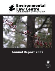 ELCS-2009-annual-rep.. - The Environmental Law Centre ...