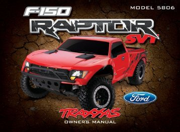5806 Manual (F-150 Ford Raptor, 2011) - Traxxas