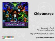 Chiptunage (PDF) - Video Game Audio