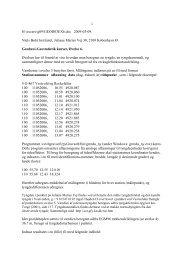 Oevelse 6 - Niels Bohr Institutet