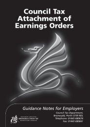 Attachment of Earnings Booklet