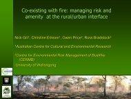 Project 1 - Bushfire Cooperative Research Centre