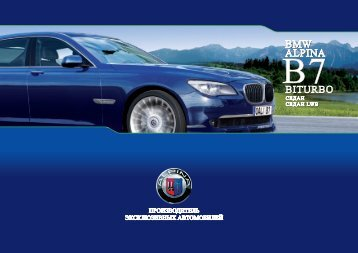 BMW ALPINA BITURBO BMW ALPINA