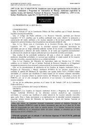 DS Nº 056-97-PCM. - Ministerio de Energía y Minas