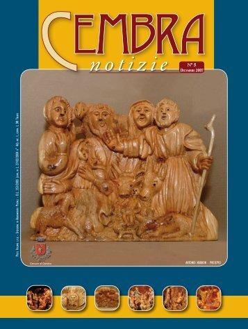 Dicembre 2007 - Comune di Cembra