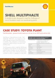 SHELL MULTIPHALTE