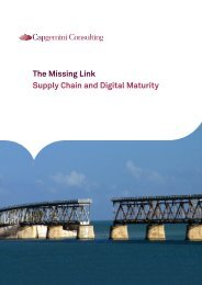The Missing Link Supply Chain and Digital Maturity