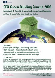 CEO Green Building Summit 2009 - DS-Plan