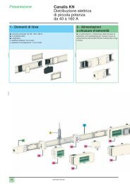Estratto catalogo Canalis KN - Schneider Electric