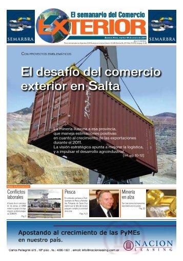 Edición N° 604 - El semanario del Comercio Exterior