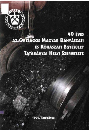 40 ÉVES - József Attila Megyei és Városi Könyvtár - Tatabánya