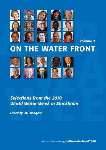 On the Water Front Vol. 2 - World Water Week