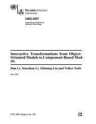 Interactive Transformations from Object- Oriented Models to ...
