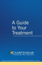 What are the side effects of CAMPTOSAR? - PfizerPro