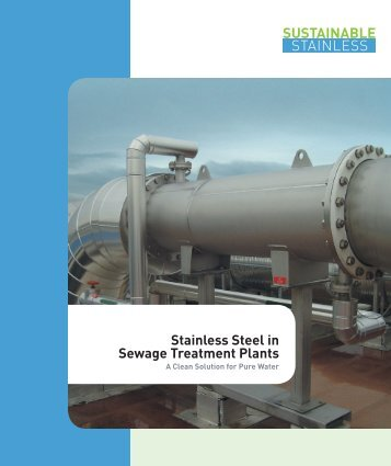ISSF Stainless Steel in Sewage Treatment Plants - International ...