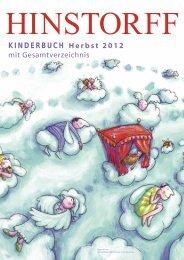 KINDERBUCH Herbst 2012 mit Gesamtverzeichnis - Hinstorff Verlag