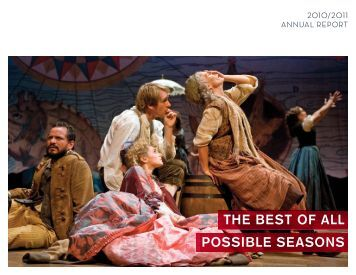 THE BEST OF ALL POSSIBLE SEASONS - Goodman Theatre