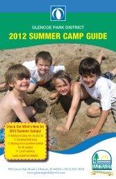 2012 SUMMER CAMP GUIDE - Glencoe Park District