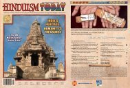 india's heritage, humanity's treasures - Hinduism Today Magazine