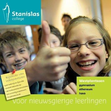 Voor nieuwsgierige leerlingen - Stanislas College