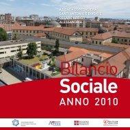 Bilancio Sociale 2010 - Azienda Ospedaliera Santi Antonio e Biagio ...