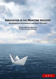 innovation in the maritime industry - Den Danske Maritime Fond