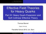 for Heavy Quarks - the School on Flavour Physics 2010