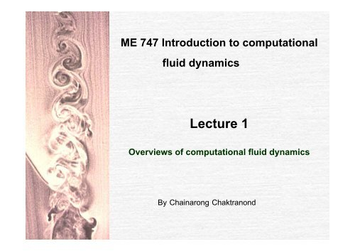 Lecture 1 - Chainarong