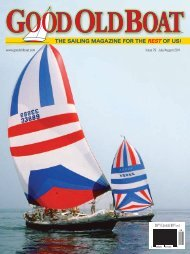 July 2011 - Good Old Boat Magazine
