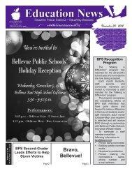 November 30, 2012 - Bellevue Public Schools