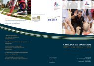 1. SPIELSPORTARTENKONFERENZ - Berliner Basketball Verband