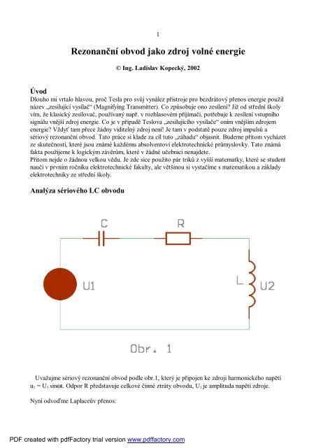Energie vzorec