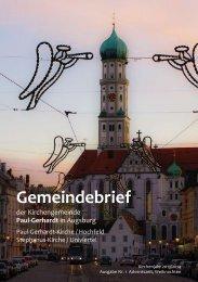 Gemeindebrief - Paul-Gerhardt