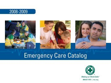 Emergency Care Catalog - National Safety Council