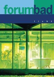 forumbad - licht - SanitärJournal