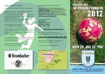 Pfingst Flyer zum download - JSG Sickte/Hondelage/Schandelah