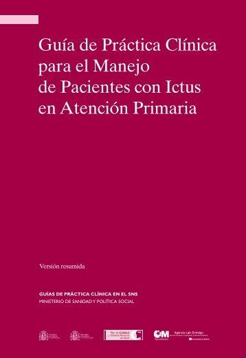 GPC sobre Ictus en AP (res.) - GuíaSalud
