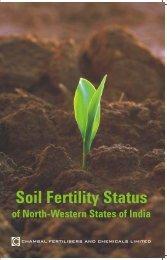Soil Fertility Status - Chambal Fertilisers - Home