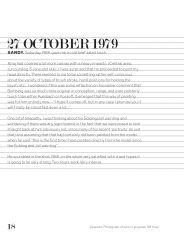 27 OCTOBER 1979 - Black Dog Publishing