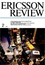 A New Standard for North American Digital Cellular - ericssonhistory ...