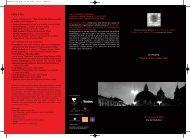 Depliant - Roma Lazio Film Commission