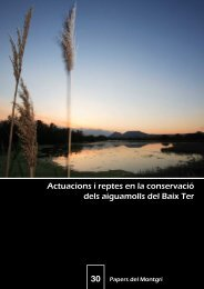Actuacions i reptes en la conservació dels aiguamolls del ... - Raco