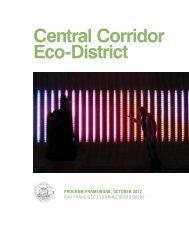 Central Corridor EcoDistrict Program Framework - San Francisco ...