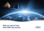 What you need to know about GNSS leap seconds