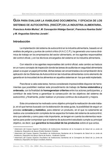 Antón Muñoz, F., Hidalgo García, M. C., Huertos Solís, F. Y Sánchez ...