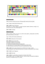 III Congreso Internacional Síndrome X Frágil Fxtas y FOP (72 Kb. pdf)