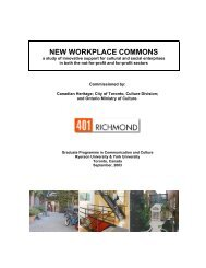 NEW WORKPLACE COMMONS - 401 Richmond