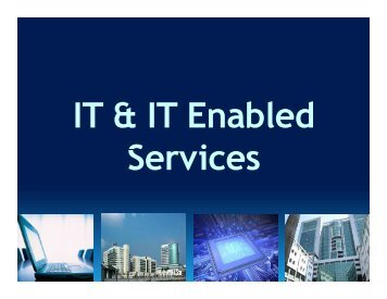 IT & IT Enabled Services - West Bengal Industrial Development ...