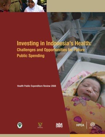 Health Public Expenditure Review 2008 - Kebijakan Kesehatan ...