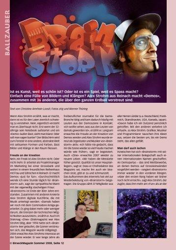 B ALLZA UB ER - Birseck Magazin